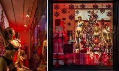 invisua lighting   Hunkemöller upgraded their Amsterdam shop window