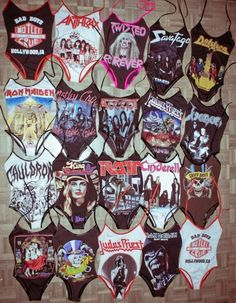 rock n roll swim suit  Not gonna lie, if I was a skinny hot chick I'd totally buy every single one of these