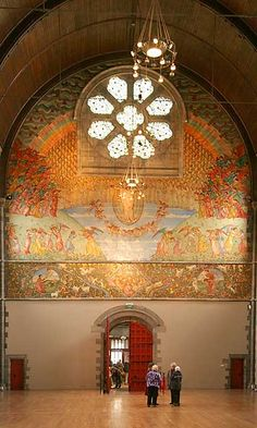 Mansfield Traquair Centre, Broughton Street, Edinburgh - The West Wall