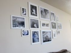 Hanging Multiple Picture Frames On A Wall