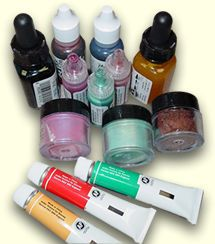 Translucent Liquid Sculpey Bakable Transfer Medium and Fimo Liquid Polymer Clay Instructions for use    with link to purchase ... great instructions on what is for what and how to do/use ... including baking, patina, marbling ect