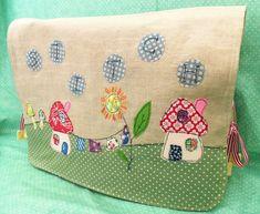 "Stitch"" Applique Sewing Machine Cover pdf pattern. $4.50, via Etsy."