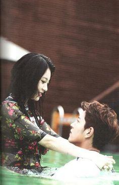 We Got Married (WGM) Girl's Day Yura (Kim Ahyoung) and Hong Jonghyun