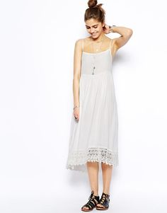 Free People | Free People Easy Breeze Slip Dress at ASOS