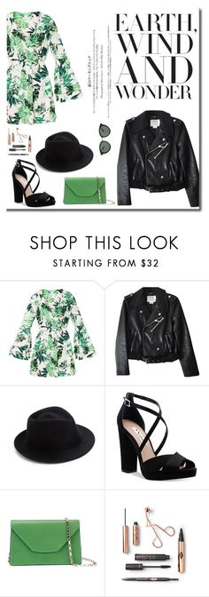 """""""no name #45"""" by luisessed ❤ liked on Polyvore featuring Kate Spade, Eugenia Kim, Nina, Valextra and Oliver Peoples"""