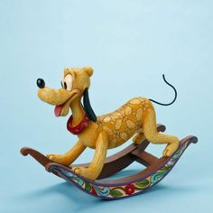 Faithful Friend-Rocking Horse Pluto Figurine