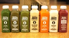 Project juice - organic, cold pressed juices.