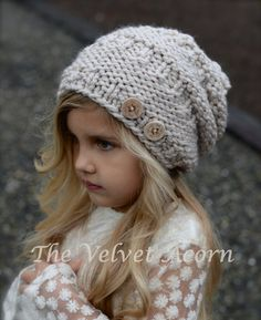 bd9e1a30177 KNITTING PATTERN - Barton Slouchy (Toddler