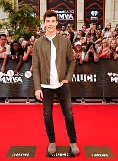 Shawn Mendes at MMVA's red carpet