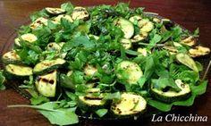 La Chicchina: Insalata con zucchine e rucola