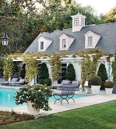 this is just the pool house!