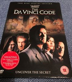Only £1.55!! The Da Vinci Code DVD 2006 2-Disc Set Fast Free Postage