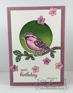 Birdy by kim021 - Cards and Paper Crafts at Splitcoaststampers