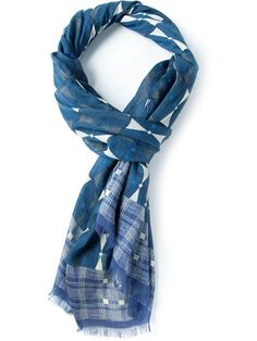 Shop Paolo Pecora geometric pattern scarf in Capsule By Eso from the world's best independent boutiques at farfetch.com. Over 1000 designers from 300 boutiques in one website.