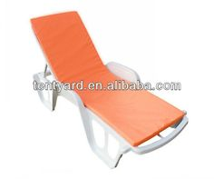 Garden Lounge Chair Outdoor Pvc Sun Lounge Chair Cushion