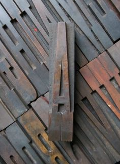 Antique Letterpress Wood Type Printers Block Letter E  Wood Types