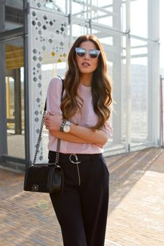 Casual Fall Outfits, Office Outfits, Work Outfits, Negin Mirsalehi, Office Looks, Classic Style, Classic Fashion, Pretty Face, World Of Fashion