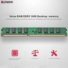 "Genuine Original Kingston KVR Desktop RAM Motherboard Memory Coupon code ""ALC2839"" for 4GB, only 24.99$ Coupon code ""ALC28398"" for 8GB, only 50.99$ Get one now>> https://www.cafago.com/en/flash-drives-storage-2639/p-c2839-8.html?aid=Lss568"