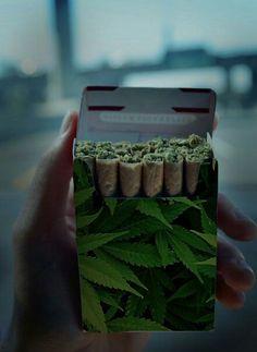 Cigarrillo de weed...