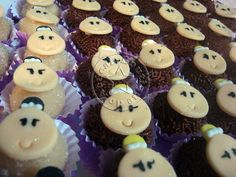 cupcake decorados de bailarina - Pesquisa Google
