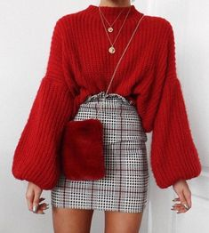 Sígueme como Perla López Winter Outfits Women, Winter Date Outfits, Date Outfit Casual, Comfy Fall Outfits, Outfit Chic, Simple Outfits, Holiday Outfits, Pretty Outfits, Cute Date Outfits