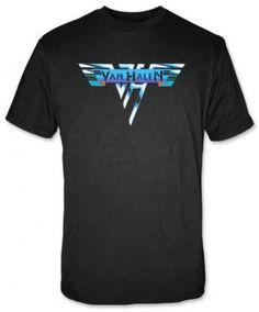 van halen shirt - vintage logo tee- band tees - http://www.band-tees.com/store/V_00050_007!FEA/Van+Halen+Vintage+Logo+T-shirt