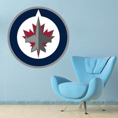 Shop repositionable hockey style wall stickers to add inspiration to your game room. Sports Wall, Sports Logo, Wall Stickers, Wall Decals, Ice Hockey Teams, Workout Rooms, Kid Stuff, Logos, Inspiration