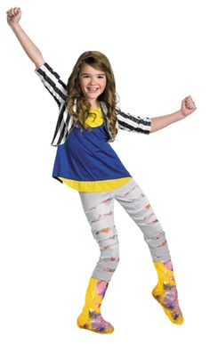 About Costume Shop Shake It Up Cece Costume - ShakeIt Up CeceChild CostumeBecome a dance icon from Disney's hit TV Show!Costume Includes: Top with attached vest, leggings and boot covers.Available Sizes: NOT included.Product Page Tween Costumes, Up Costumes, Disney Costumes, Halloween Costumes For Girls, Children Costumes, Shake, Morris Costumes, Halloween News, Disney Halloween