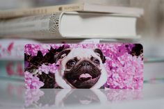 Pug Photo Bookmark For Bookworms Fine Art by Camerallure on Etsy, $7.00