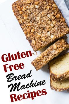 Gluten free bread machine ideas can help let you enjoy the fresh scents and tastes of many different types of bread without worrying about the food allergy and diet side effects. Gluten Free Bread Recipe Easy, Best Gluten Free Recipes, Easy Bread Recipes, Low Carb Chicken Recipes, Low Carb Recipes, Healthy Recipes, Clean Eating Meal Plan, Clean Eating Recipes, Sin Gluten