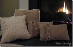 Repurposed clothing into Pillows... say what?!?