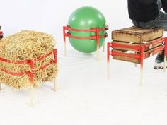The Stooler converts any object into a stool