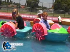 Alberton Day music festival 2015 photo gallery - Water Boats in the fun park