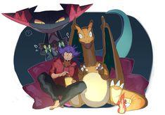 Gen 1 Pokemon, Pokemon Super, Pokemon Games, Cute Pokemon, Pikachu, Pokemon Champions, Fanart, Pokemon Pictures, Charizard