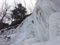 Waterfalls aren't just for summer! Winter provides a majestic time to enjoy the many waterfalls of Hamilton Toronto Travel, Waterfall Hikes, Tourism Website, Natural Playground, Raw Beauty, Summer Winter, Weekend Getaways, Waterfalls, The Great Outdoors