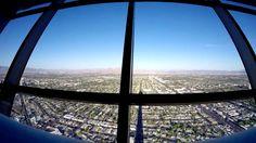 Las Vegas Stratosphere Casino Tower - 360 plus view Stratosphere Las Vegas, Airplane View, Tower, Photo And Video, World, Youtube, Fun, The World, Fin Fun