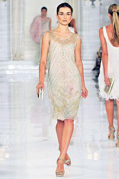 Fashion Show: Ralph Lauren Spring Summer 2012 RYW NYFW ♥♥♥ Роскошь и шик