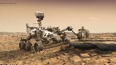 Awesome Girls: Space Exploration - Mars to the Stars for grades K to 5 - 1333551 Mars Mission, Curiosity Rover, Curiosity Mars, Sonda Curiosity, Mars Landing, Life On Mars, Deep Space, Space Travel, Space Exploration