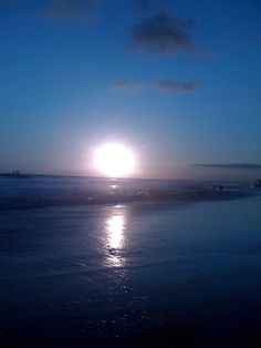 Summer Sunset @ Huntington Beach, CA