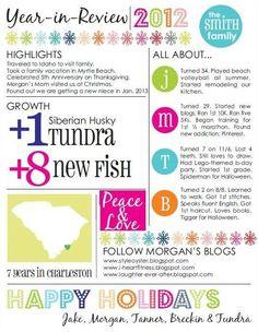 Family Newsletter Template   Organization   Pinterest   Newsletter ...