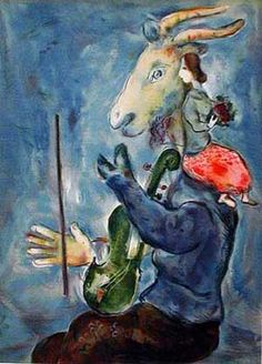 Marc Chagall: Spring (1938): I sold Chagall prints in Portobello Road on occasional Saturdays in the 60s.