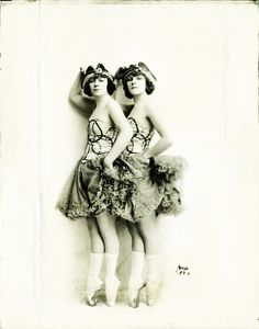 The Cameron Sisters in the Ziegfeld Nine O'Clock review, 1920