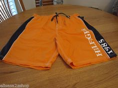 Men's swim trunks board shorts Tommy Hilfiger XL 811 orange peel 7828963 TH NEW