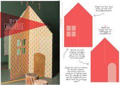 #diy make your #kids own playhouse by www.moodkids.nl eenvoudig en snel zelf een speelhuisje maken van mdf hout of karton #zelfmaken