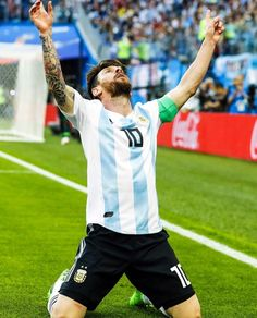 Lionel Messi of Argentina during the 2018 FIFA World Cup Russia group D match between Nigeria and Argentina at the Saint Petersburg Stadium on June 2018 in Saint Petersburg, Russia Messi Hd, Messi And Neymar, Fc Barcelona, Lionel Messi Barcelona, Messi Poster, Messi World Cup, Cr7 Junior, Lionel Messi Wallpapers, Argentina National Team
