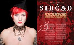 Image result for music magazine layout