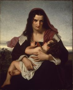 The Scarlett Letter Hugues Merle (French, 1823-1881)