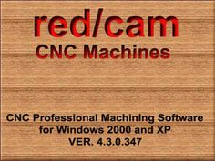 Red / Cam Manufacturing - CNC Milling Machines RIM 9400
