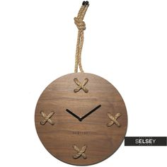 Zegar drewniany Stich Wall, Clocks, Home Decor, Products, Decoration Home, Room Decor, Clock, Gadget
