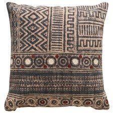 Priti Textured Cotton Cushion Cushions Cushion Design Pillow Cushion
